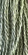 The Gentle Art Simply Wool Threads - Green Tea Leaf 0195W, 10 yard skein, needlework, embroidery, counted cross stitch