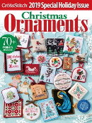 Just Cross Stitch 2019 Christmas Ornaments magazine patterns