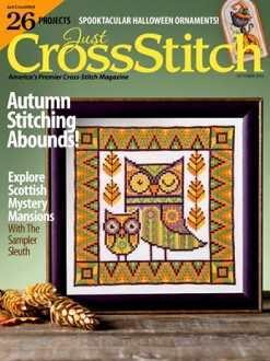 Just Cross Stitch October 2019 magazine