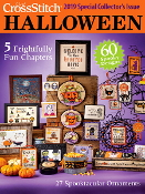 Just Cross Stitch 2019 Halloween magazine