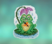Mill Hill Spring Bouquet collection My Pad counted cross stitch ornament kit