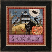 Mill Hill Sticks Spooktacular beaded counted cross stitch kit