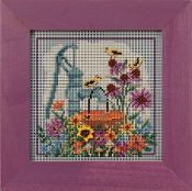 Mill Hill Autumn Series Water Pump beaded counted cross stitch kit