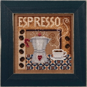 Mill Hill Autumn Series Espresso beaded counted cross stitch kit