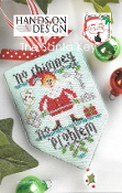 Hands On Design The Santa Key Counted cross stitch pattern chart