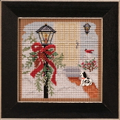 Mill Hill Christmas Welcome Counted cross stitch kit