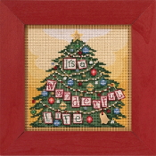 Mill Hill It's a Wonderful Life Counted cross stitch kit