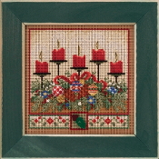 Mill Hill Holiday Glow Counted cross stitch kit