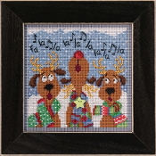 Mill Hill Reindeer Chorus Counted cross stitch kit