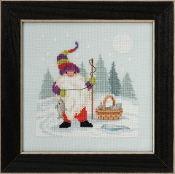 Mill Hill - Fishing Gnome MH17-2013 beaded counted cross stitch kit