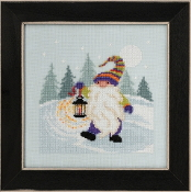Mill Hill - Hiking Gnome MH17-2014 beaded counted cross stitch kit