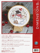 Dimensions Counted cross stitch picture kit - Joyful Snow Globe