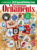 Just Cross Stitch 2020 Special Christmas Issue Ornaments magazine