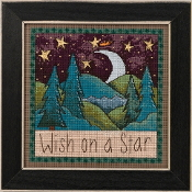 Mill Hill Sticks Wish on a Star beaded counted cross stitch kit