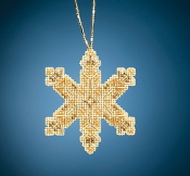 Mill Hill Beaded Holiday Victorian Snowflake MH21-2014 Ornament counted cross stitch kit