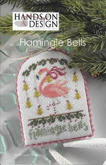 Hands On Design Flamingle Bells Counted cross stitch pattern chart