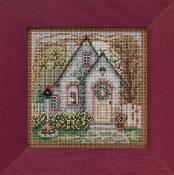 Mill Hill Spring Series Summer Cottage beaded counted cross stitch kit