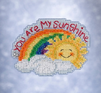 Mill Hill Spring Bouquet collection My Sunshine counted cross stitch ornament kit