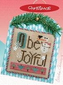 Heart In Hand Merry Making Mini O Be Joyful Counted cross stitch pattern, chart