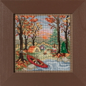 Mill Hill Autumn Series Outdoor Adventure beaded counted cross stitch kit