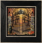 Mill Hill Autumn Series Spooky Gate beaded counted cross stitch kit