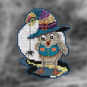 Mill Hill Autumn Harvest collection ornaments Halloween Owl counted cross stitch ornament kit