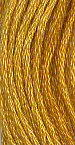 The Gentle Art Simply Wool Threads - Gold Leaf 0420W, 10 yard skein, needlework, embroidery, counted cross stitch