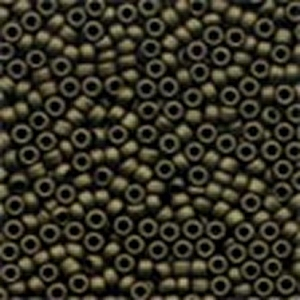 Mill Hill Antique Glass Seed Beads 03024 Mocha, needlework