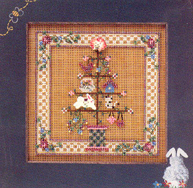 Mill Hill Spring Series - Spring Feather Tree - beaded counted cross stitch kit