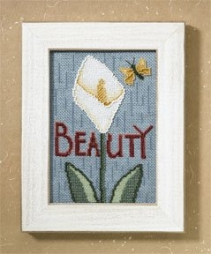 Debbie Mumm - Mill Hill Words for Life, Beauty, Cross Stitch Kit