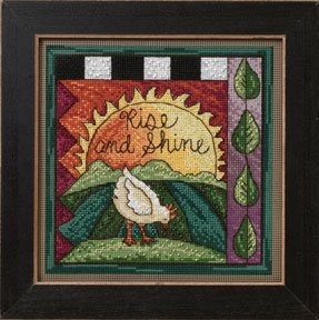 Mill Hill Sticks Rise and Shine beaded counted cross stitch kit