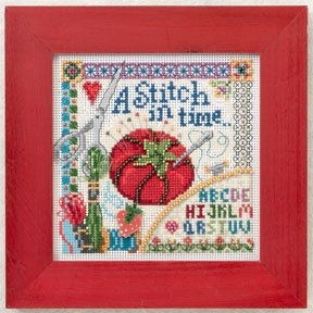 Mill Hill Spring Series Stitch in Time beaded counted cross stitch kit